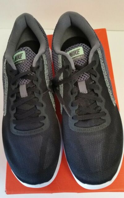 best service 86d05 6c503 Nike Women s Revolution 3 Running Shoe Black Mint White Dark Grey 10 Medium  New