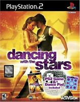 Sealed Activision Playstation 2 Dancing With The Stars Game & Dance Mat