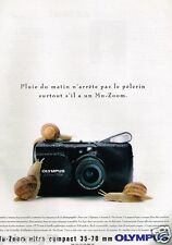 Publicité advertising 1993 Appareil photo Zoom ultra compact Olympus