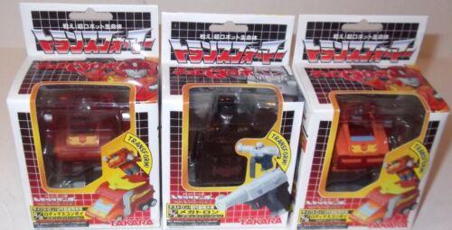 Takara Transformers Choro Q Noir Megatron Rodimus Prime Figure CHORO Q Lot DGSIM