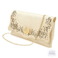 Disney Parks Cinderella Purse - Live Action Film Gold Shoulder Bag