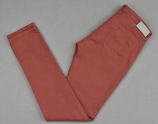 Womens MAISON SCOTCH Jeans Pink Slim Leg Jean W28 L32