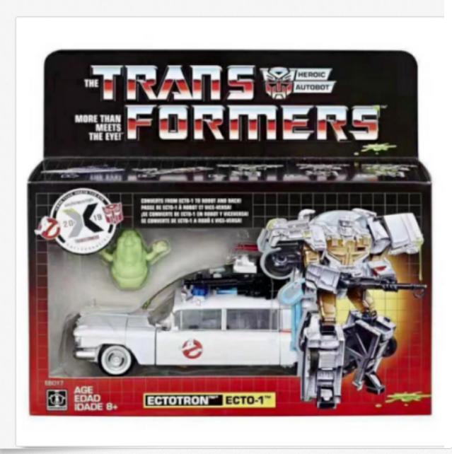 In uomoo HASBRO Transformers GHOSTautoautobusTERS ectotron ECTO - 1 esclusiva  azione cifra  sconto online di vendita