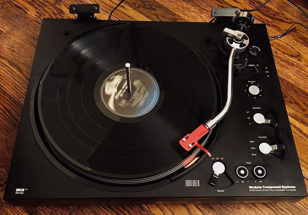 MCS 6700 Direct Drive Fully Automatic Turntable . Buy it now for 699.00