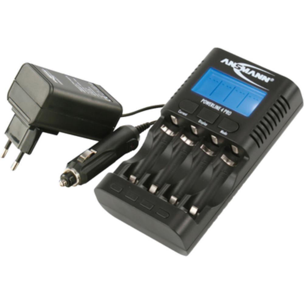 Ansmann Batterie-Ladegerät Powerline 4 pro