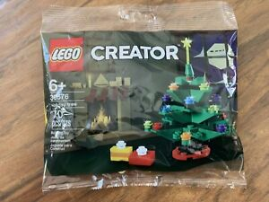Lego Creator Holiday Tree 30576 70 piece New in Poly Bag Ships ASAP
