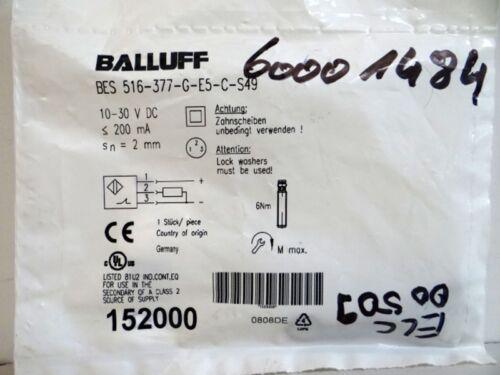 OVP BALLUFF BES 516-377-G-E5-C-S49