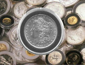 50 Coin Capsule Display Stand For Liberty Trade Morgan Peace Eisenhower Dollar