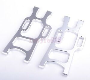 108021-HSP-Rear-Lower-Suspension-Arm-Silver-RC-1-10-Truck-Car-08006-Spare-Parts