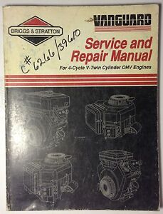 briggs and stratton service manuals free