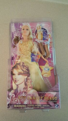 taylor swift red carpet ready fashion collection barbie