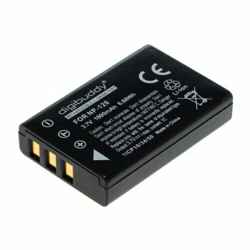 Digibuddy batería para Fuji np-120