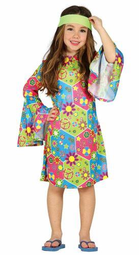 Filles Hippy Costume Hippie Enfant Fantaisie Robe Costume