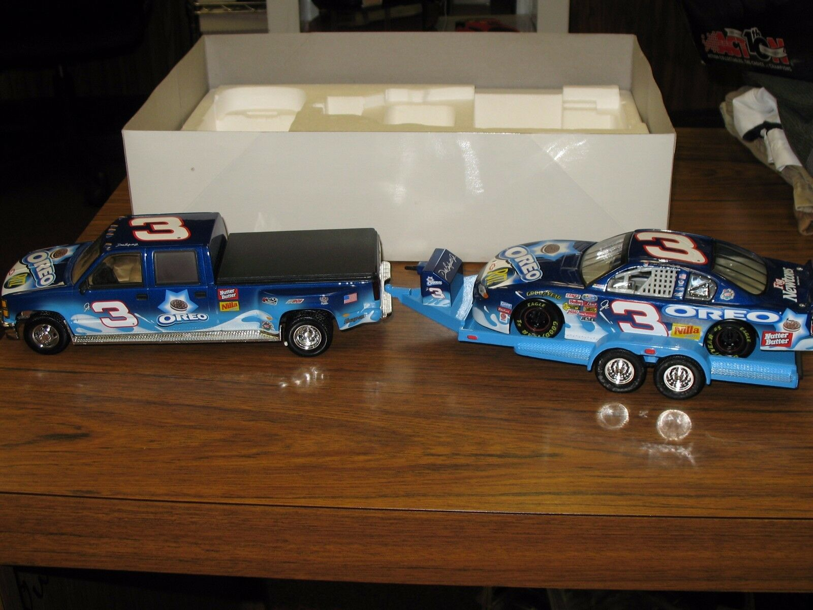 Dale Earnhardt Jr Brookfield Collectors Guild 1 24 2002 Oreo Oreo Oreo Car Cab & Trailer 2724b0