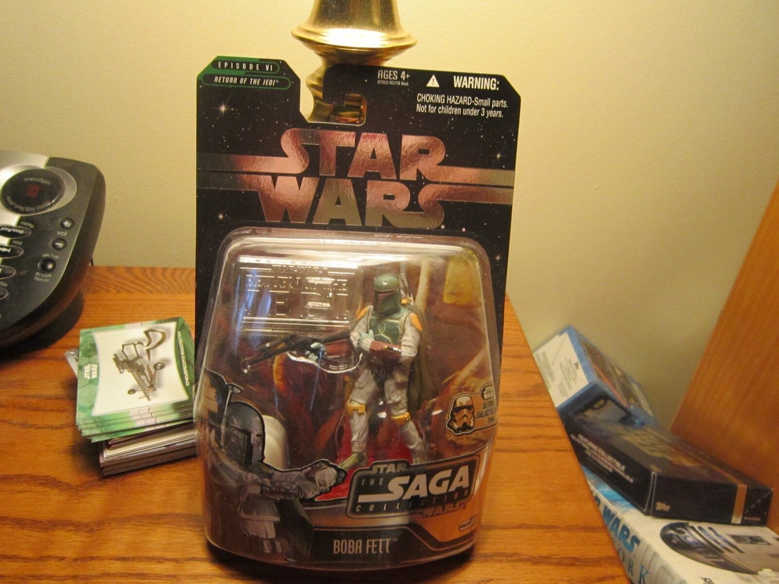 STAR WARS  ULTIMATE GALACTIC HUNT 2006   BOBA FETT  Battle Of Carkoon   006