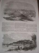 Views of Fremantle and King George Sound Australia 1857 prints