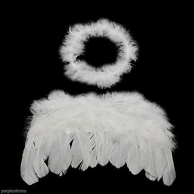 Kids Costume Wings Baby Angel Fairy Headgear for Cosplay Photography Props Album
