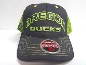 Oregon-Ducks-Cap-Zephyr-Adjustable-Mesh-Snapback-Jolt-Trucker-Hat-NCAA