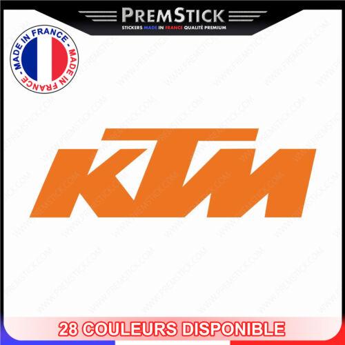 Aufkleber KTM Zwei Räder Helm ref1 Aufkleber Motorrad Motorroller