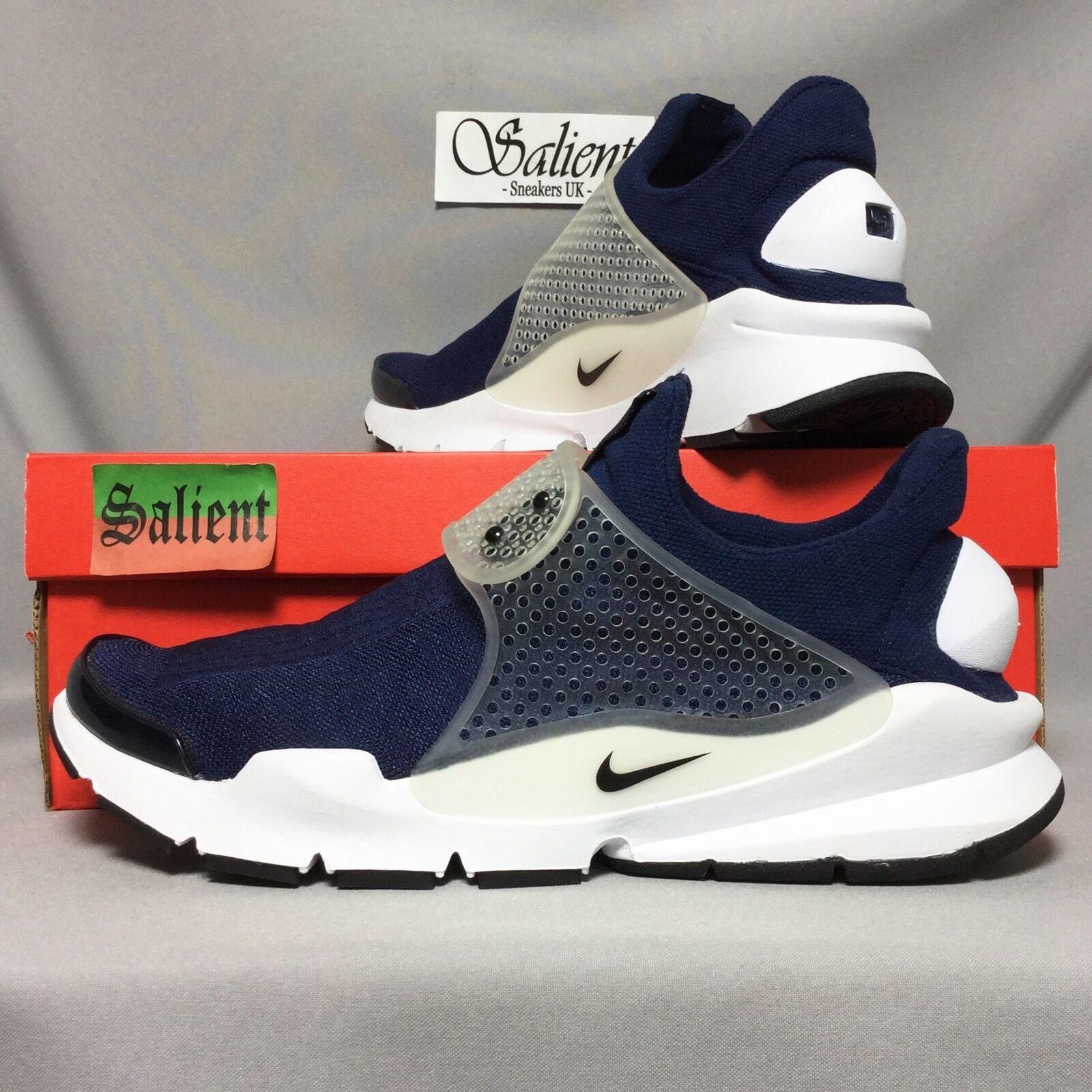Nike sock dardo uk11 819686-400 marina eur46 us12 ds qs presto moc acg / flusso d'aria