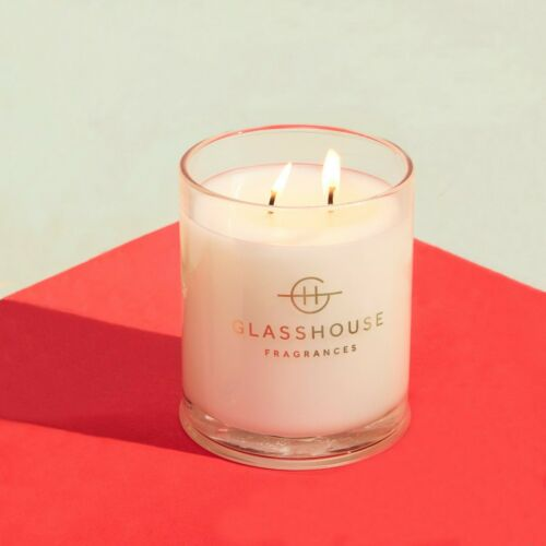 20/%OFF Glasshouse Melbourne Muse 380g Soy Candle Triple Scented Natural Handmade