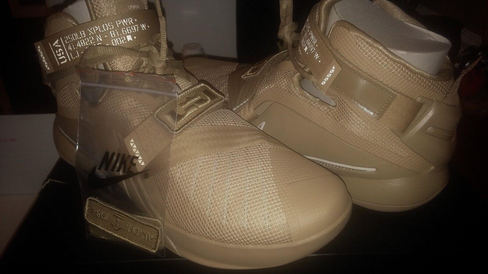 Nike lebron soilders desert storm sz 11