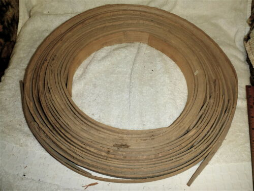 About 28 Hoops In These 2 Vintage Oak Basket Hoops Many Uses. 2 Bushel Size