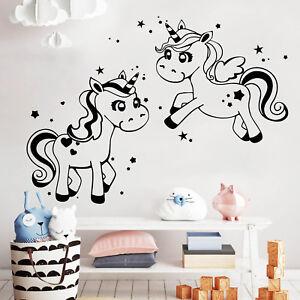 unicornios-estrellas-10373-ADHESIVO-NINA-DORMITORIO-INFANTIL-REGALO