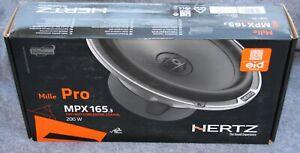 """HERTZ Mille Pro - MPX165.3 6.5"""" Coaxial Speakers"""
