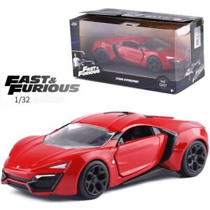 1-32-Scale-Jada-Fast-And-Furious-Lykan-Model-Kid-HyperSport-Race-Car-Diecast-Toy