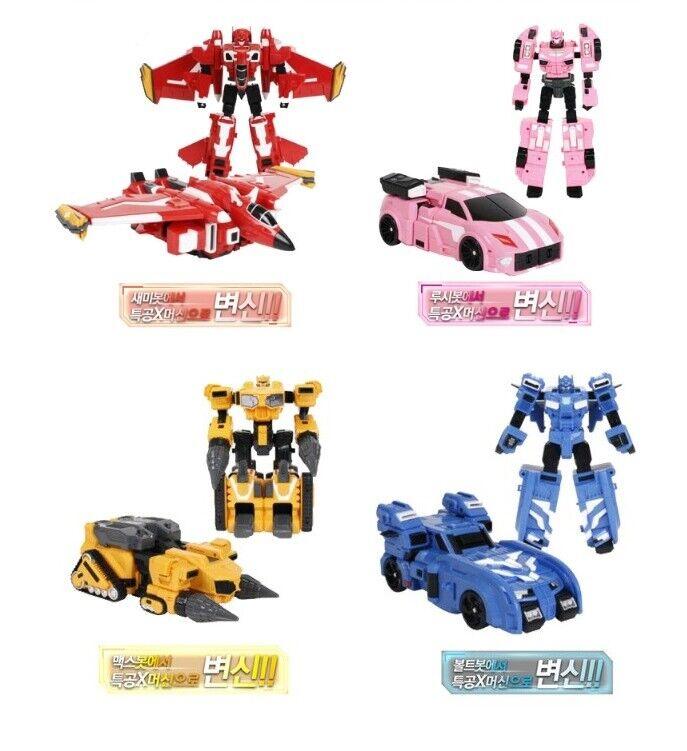 Försäljning av kombinerade Robot Tron MINIFORCE X Transformer hobbies Bolt Semi Lucy Max u vgdg
