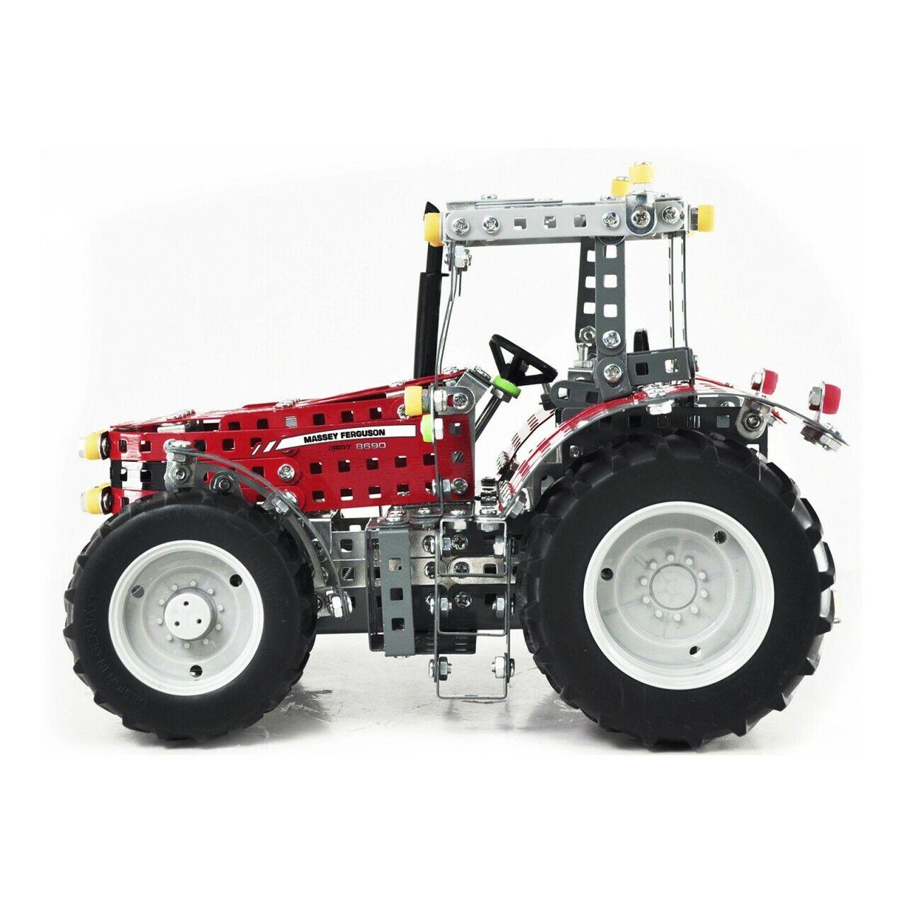 Metallbaukasten Traktor Traktor Traktor Massey Ferguson MF-8690 1024 tlg. von Tronico 271321