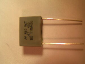 0.47UF CAPACITOR 400V ARCOTRONICS R60MN34705030J 22.5MMP,Price For:   5