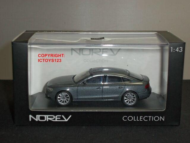 Norev 830100 Audi A5 Sportback 2012 Metallic Dark Grey Diecast Model