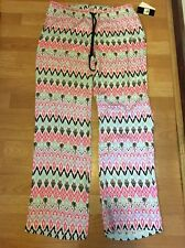 PJ Salvage Sleep Pants Pajama Bottoms Cozy Lounge Palm Print NWT sz M Medium