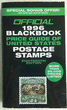 Official 1996 Blackbook Price Guide of US Postage Stamps