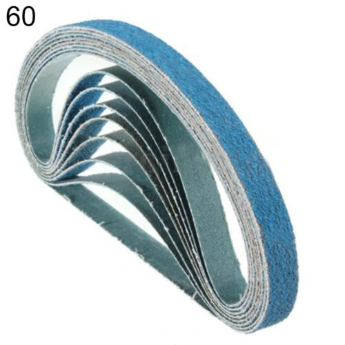 UK/_ 13 x 457mm Sanding Belts 40//60//80 Grit Powerfile For Black and Decker Seraph