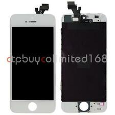 LCD Display Touch Screen Digitizer Assembly Frame Replacement For iPhone 5 White