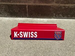 K-Swiss-1990s-Rare-VINTAGE-Shoe-Shelf-Shelves-Display-for-Slat-Walls-Brand-New
