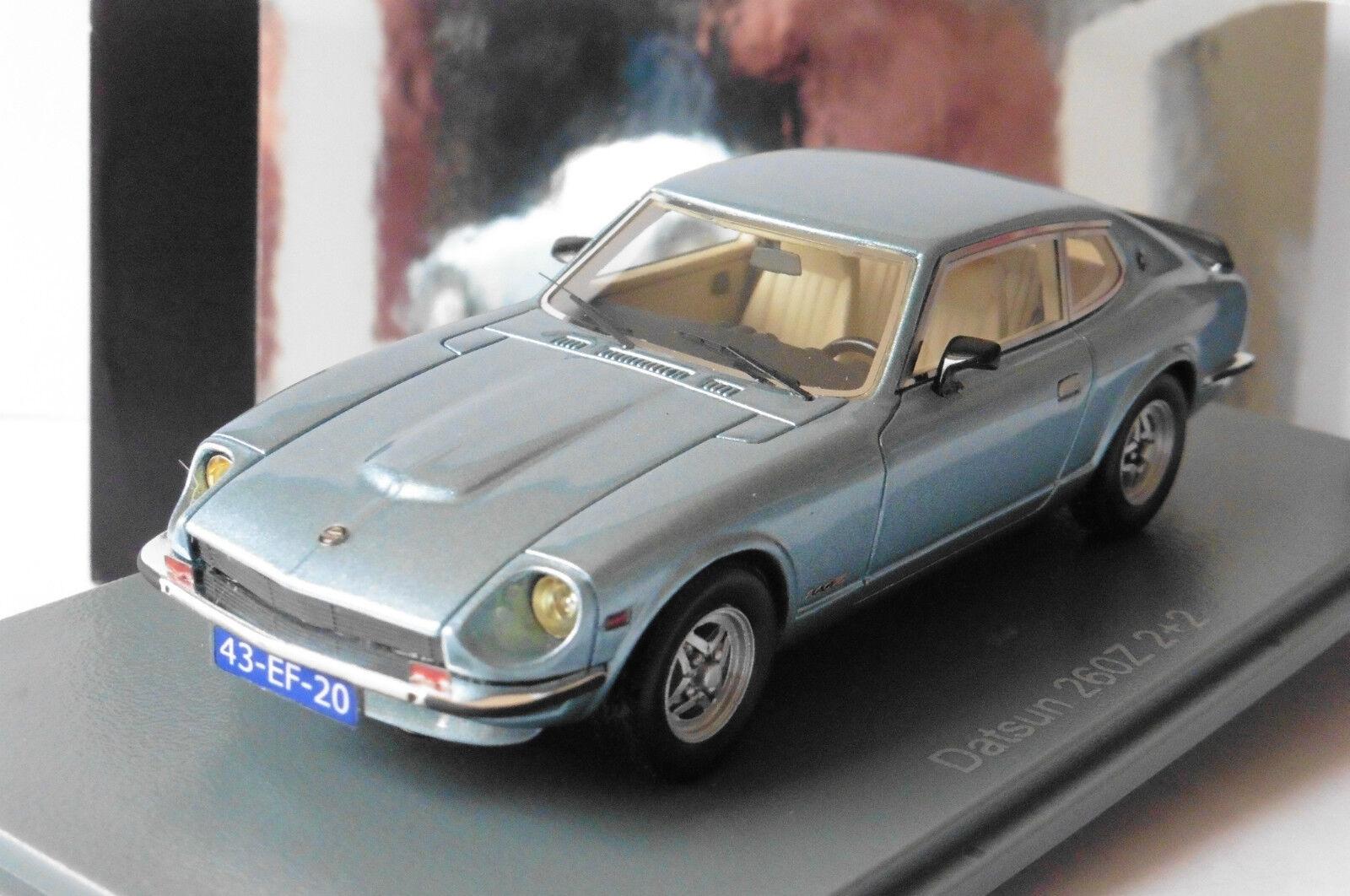 DATSUN 260Z 2+2 LIGHT azul METAL 1975 NEO 43986 1 43 LEFT HAND DRIVE LHD SKY