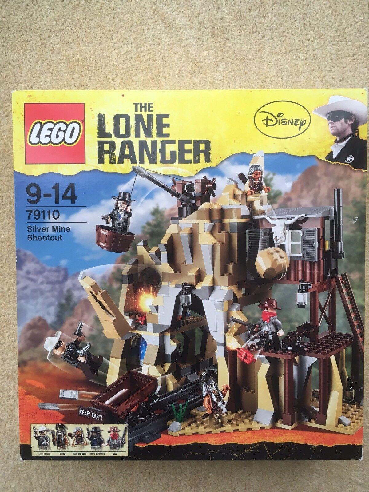 LEGO LONE RANGER 79110-Miniera d'argentoo  sparatoria-BNISB - 2013  buon prezzo