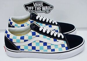0af3ca3401f29a Image is loading VANS-OLD-SKOOL-CHECKERBOARD-BLUE-TOPAZ-VN-0A38G1QCM-