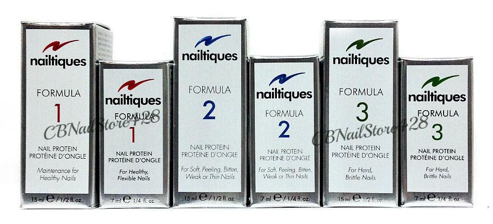 Nailtiques Nail Protein - Formula 1 - 2 - 3 - Pick Any Size 0 25oz - 0 5oz