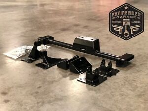 Details about 1973-1979 Ford F100 Coyote Swap Motor Mount Transmission  Crossmember Kit 3/4 Ton