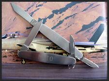 NATO ® Folding pocket Knife Case back open swiss style watchmaker tool IW SUISSE