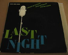 THE BARONS - LAST NIGHT + 2 - French CID EP P/S Monster Mod Organ version HEAR