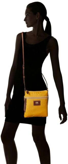 37598df147 Frye Ivy Nylon Crossbody Bag Yellow Db677