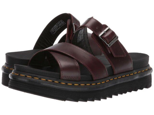 Slide DrMartens Ryker Charro Women's Buckle 24515211 Leather Shoes Sandals w0nP8Ok