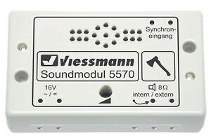 Viessmann-5570-Modulo-de-Sonido-Lenador-de-Madera-Nuevo