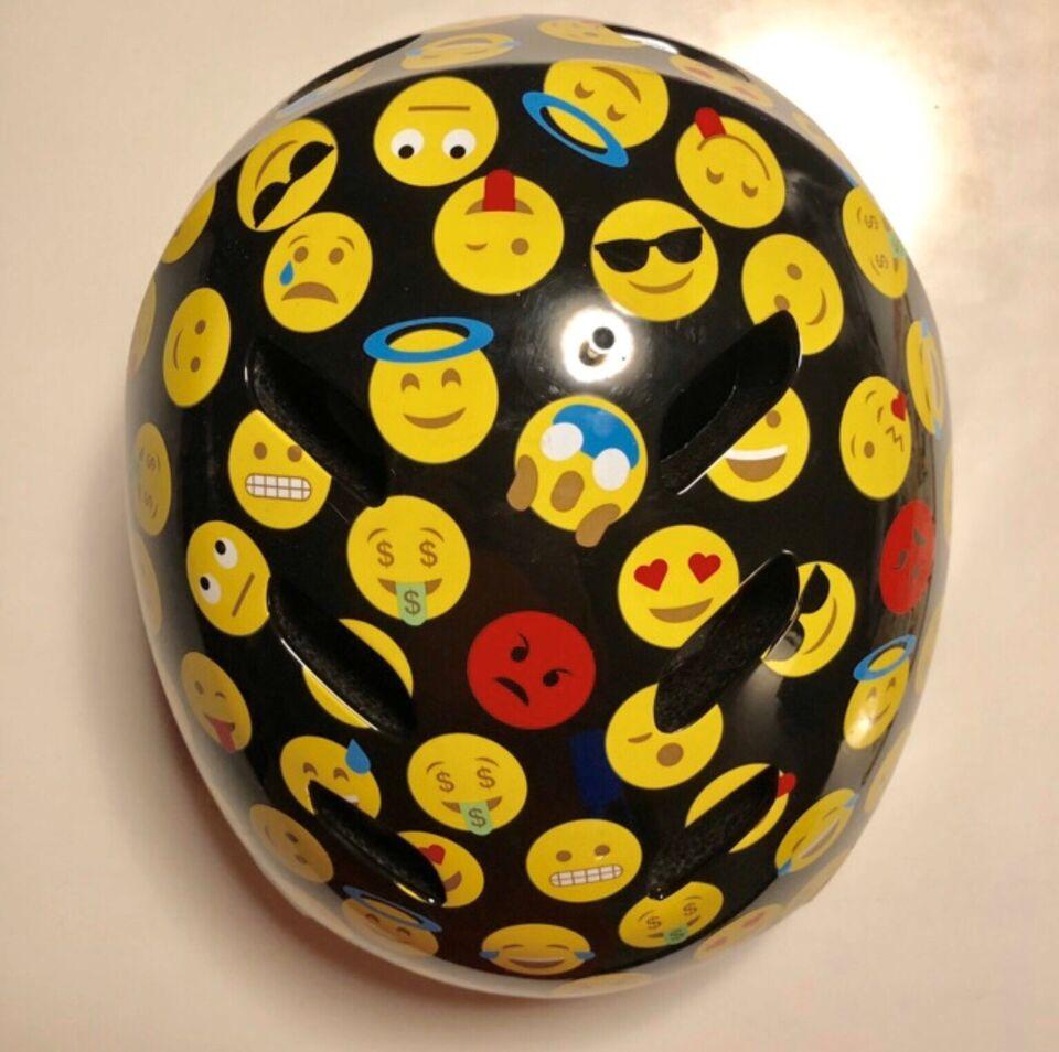 Cykelhjelm, Emojis